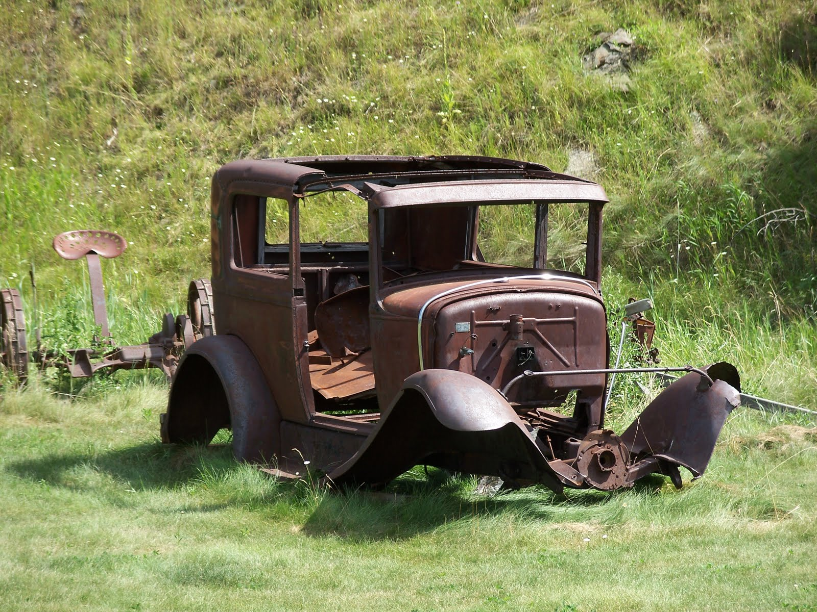 Old car in Black Hills