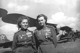 Rufina Gasheva (848 missions) & Nataly Meklin (980 missions)