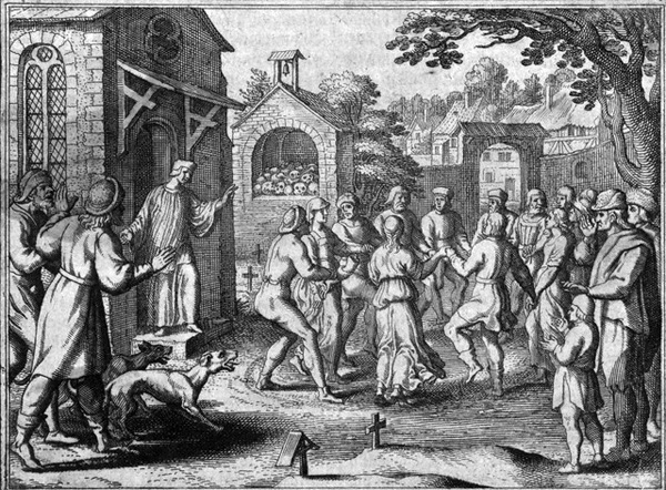 Death in the Streets – The Dancing Plague of 1518