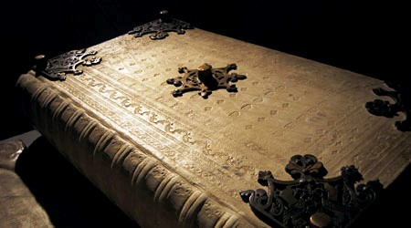 Codex Gigas Ornate Cover