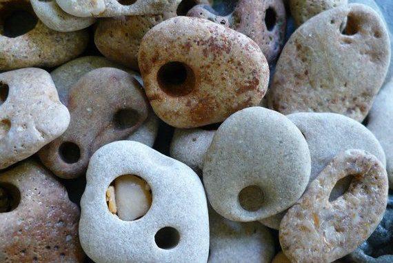 Hag Stone Sacred Powerful Magickal The Gypsy Thread Hag stone holey stone hagstone. hag stone sacred powerful magickal