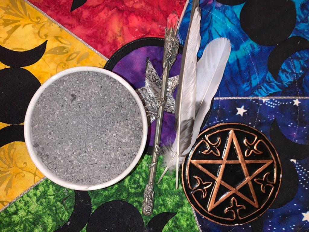 Witches Black Salt